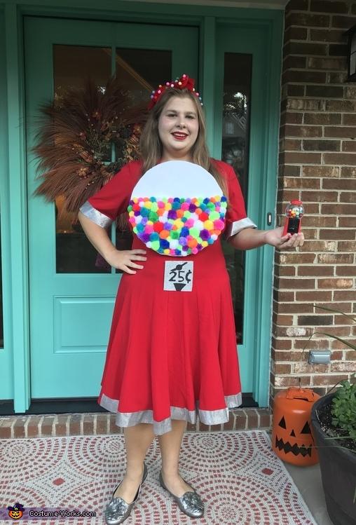 Gumball Machine Costume