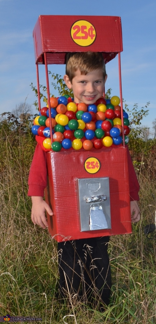 Gumball Machine Costume
