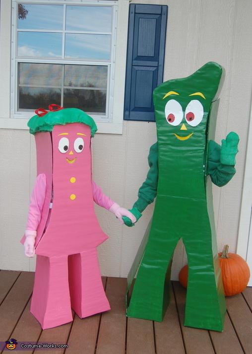 Gumby and Minga Costume