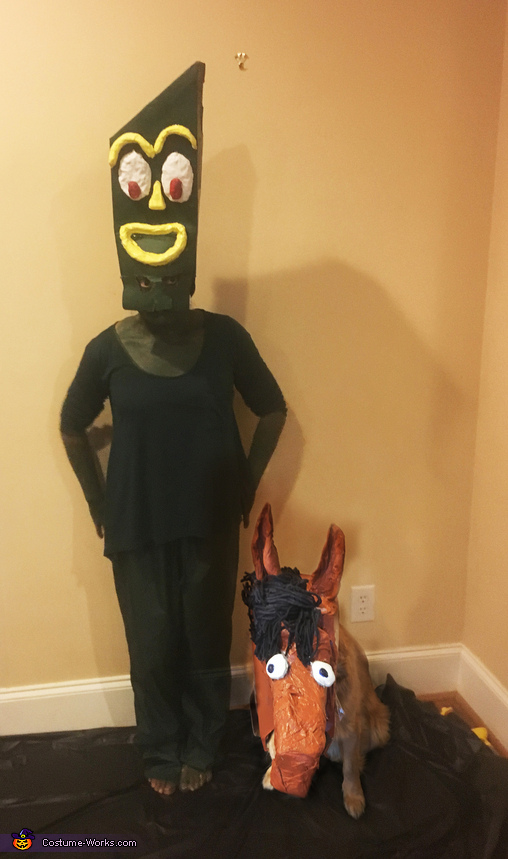 Gumby and Pokey Costume