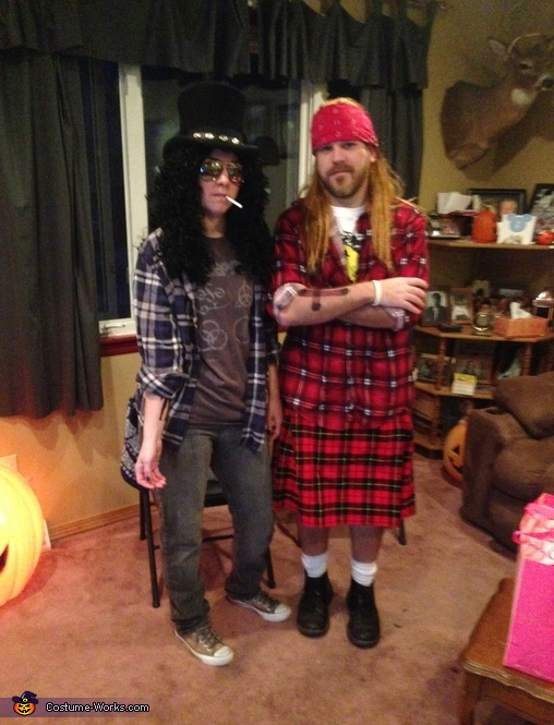 Guns and Roses Costume