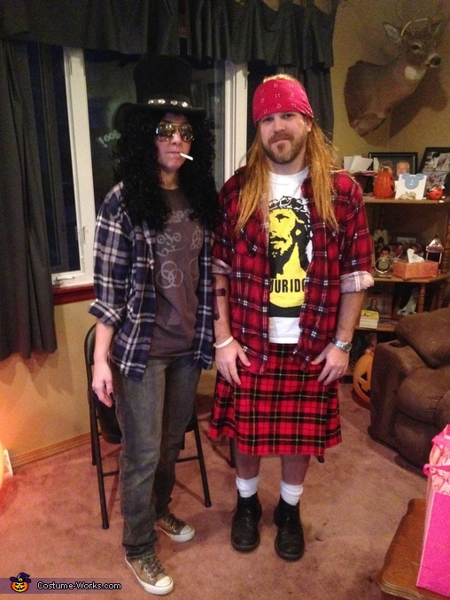 Guns & roses , Guns and Roses Costume