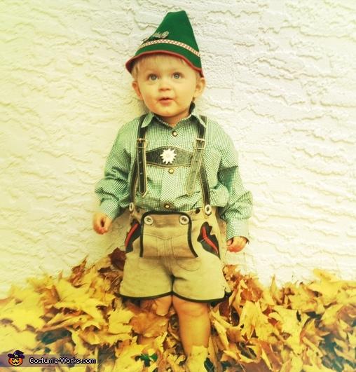 Guten Tag Boy Costume