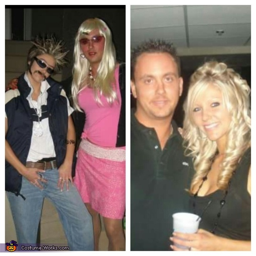 before and after, Guy and Girl Costume