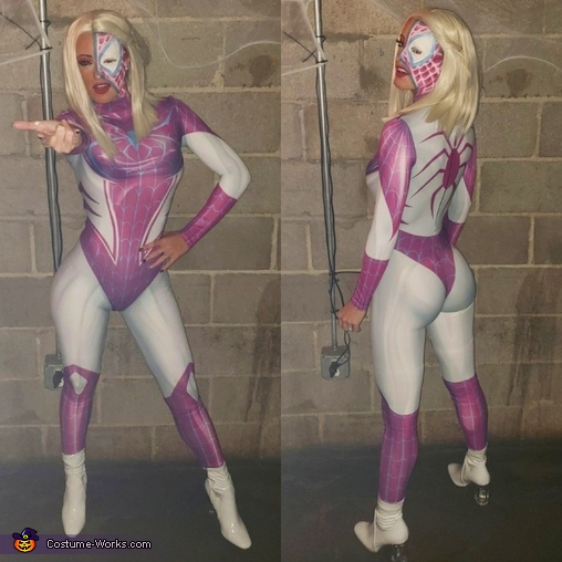 Gwen Stacey Homemade Costume