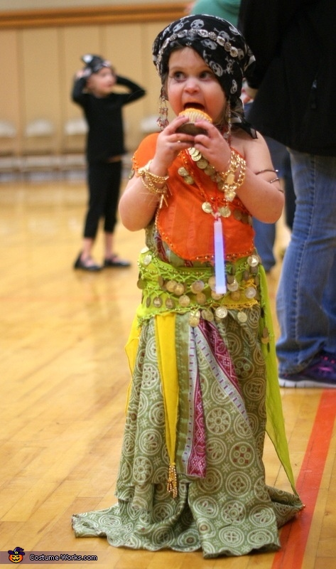 Gypsy Homemade Costume