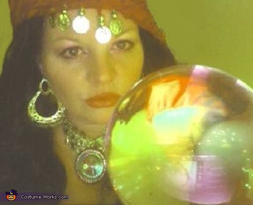 Gypsy Fortune Teller Homemade Costume