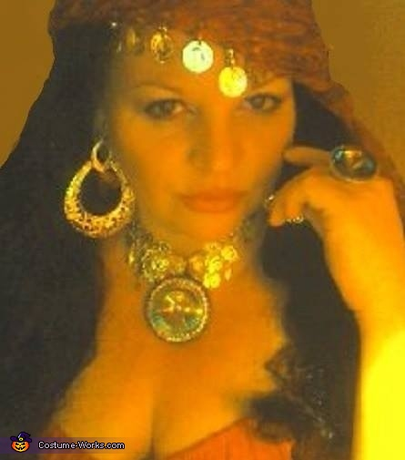 Gypsy Fortune Teller Homemade Costume