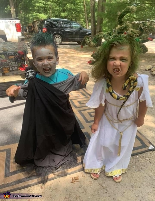 Hades and Medusa Costume