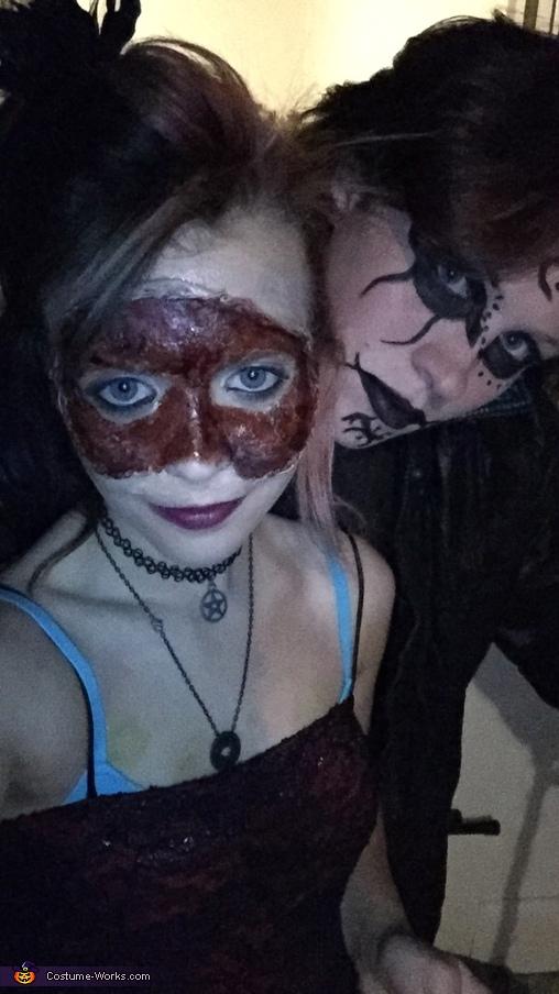 Half-dead Masquerade Homemade Costume