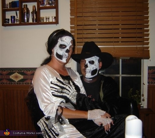 half dead couples costume