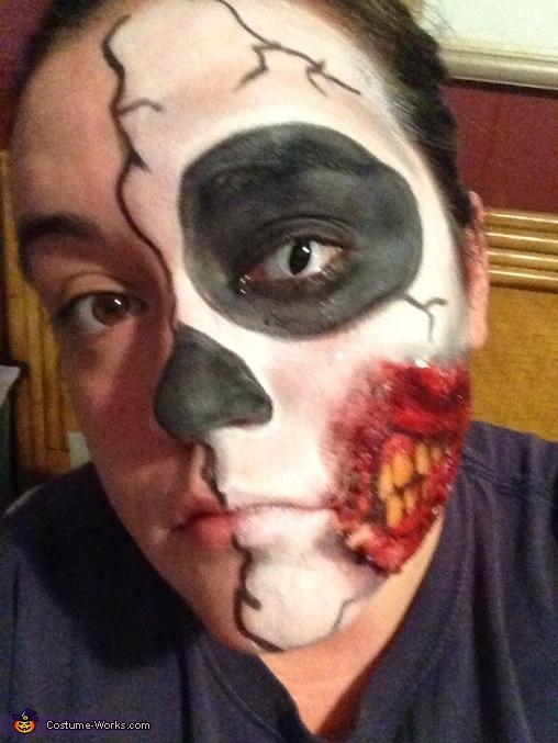Half Face Costume