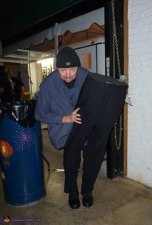 Half Man Costume