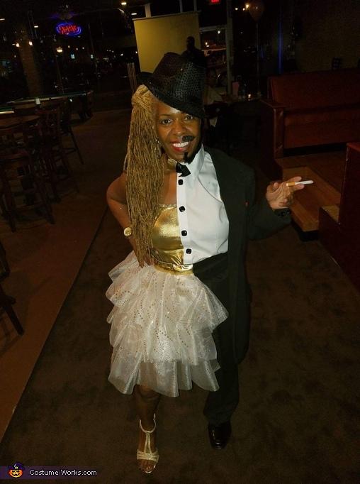 Half Man half Woman Costume - Photo 2/5 - photo#25