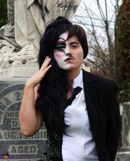 Love, Half Raven, Half Edgar Allan Poe Costume