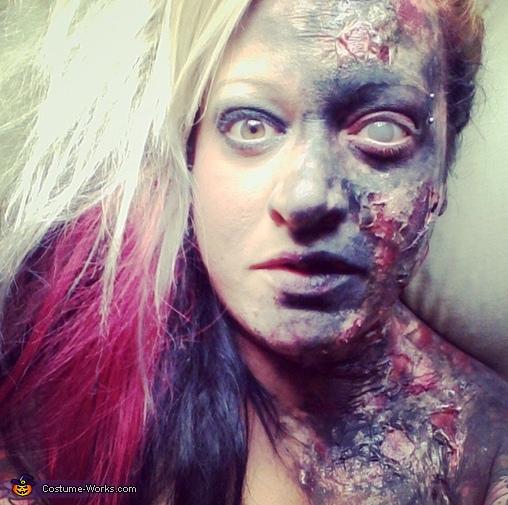 Zombie, Half Zombie Makeup