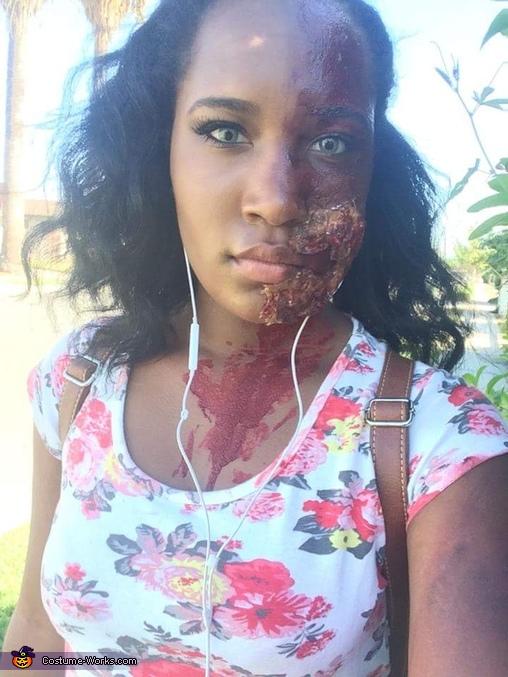 Half Zombie Half Beauty Costume
