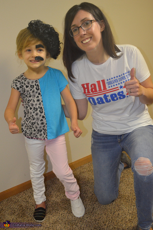 Hall & Oates and their #1 (well, #2) fan, Hall & Oates Costume