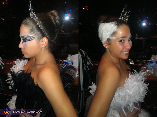Black Swan vs White Swan - Homemade costumes for women
