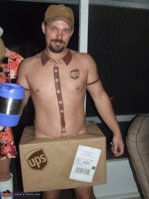 UPS Delivery Man Costume