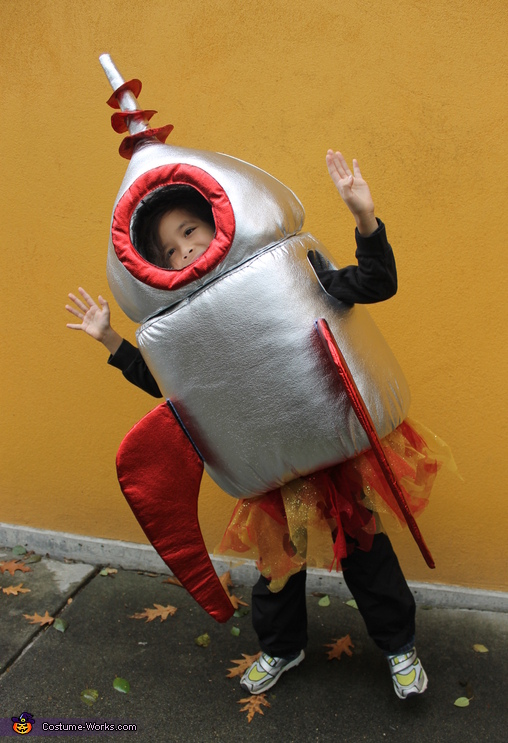 Rocket Boy, Halloween Blast Off Costume