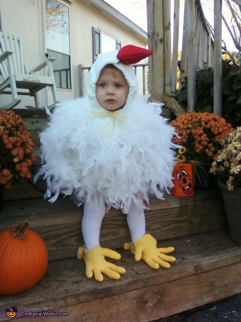 Halloween Chicken Costume