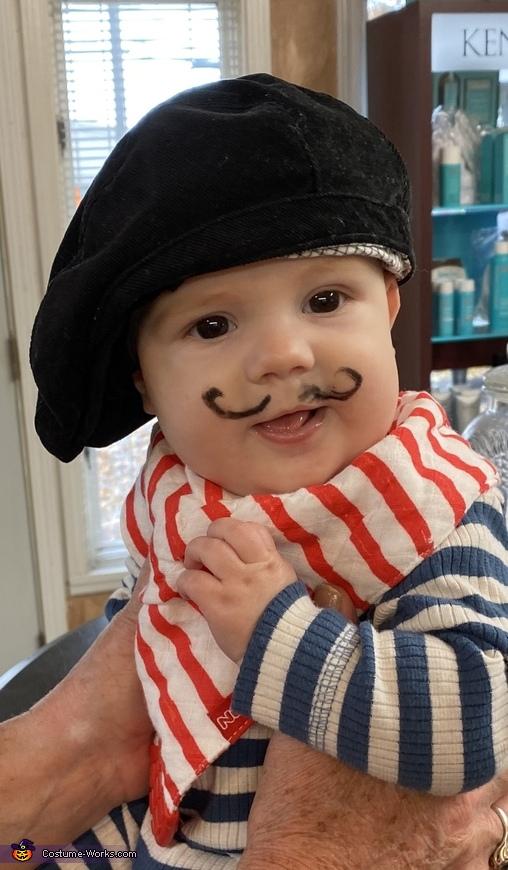 Halloween Frenchman Costume