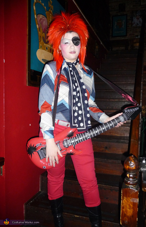 Halloween Jack David Bowie - Homemade costumes for women