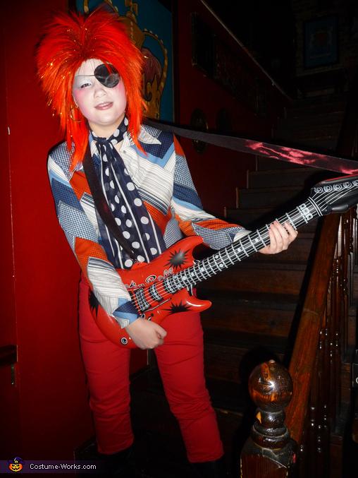 Halloween Jack David Bowie Costume