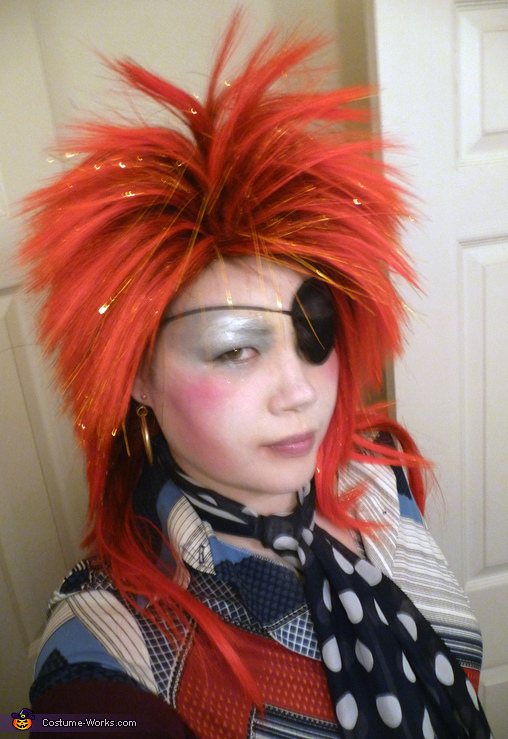 Halloween Jack David Bowie Costume