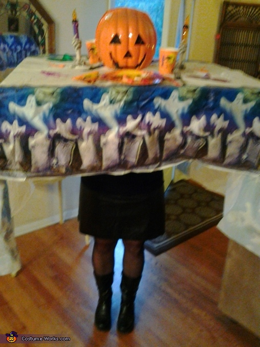 Halloween Table Costume
