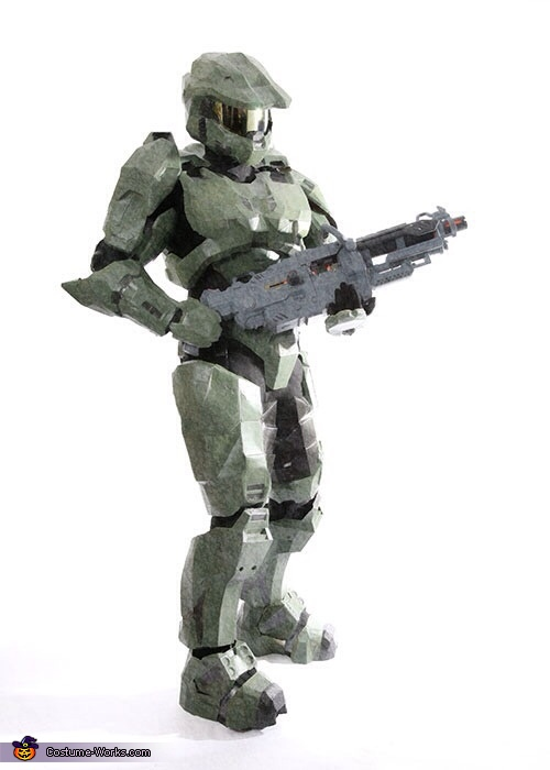 Halo Homemade Costume