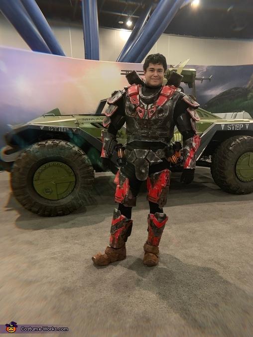 I call Shotgun, Halo 3  Hayabusa Costume