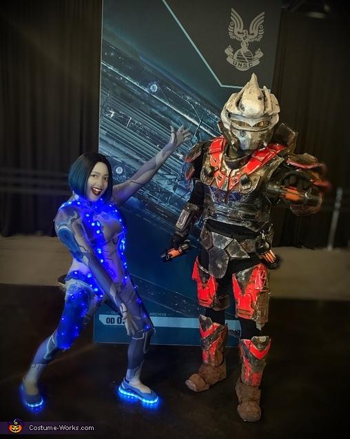 Hayabusa and Cortana, Halo 3  Hayabusa Costume