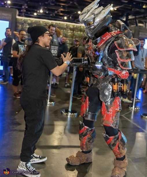 Highest of Fives, Halo 3  Hayabusa Costume