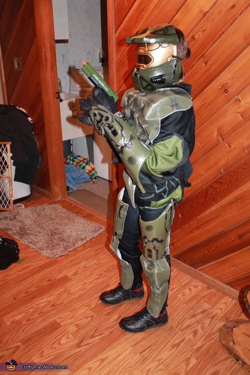 Halo 3 Master Chief Homemade Costume