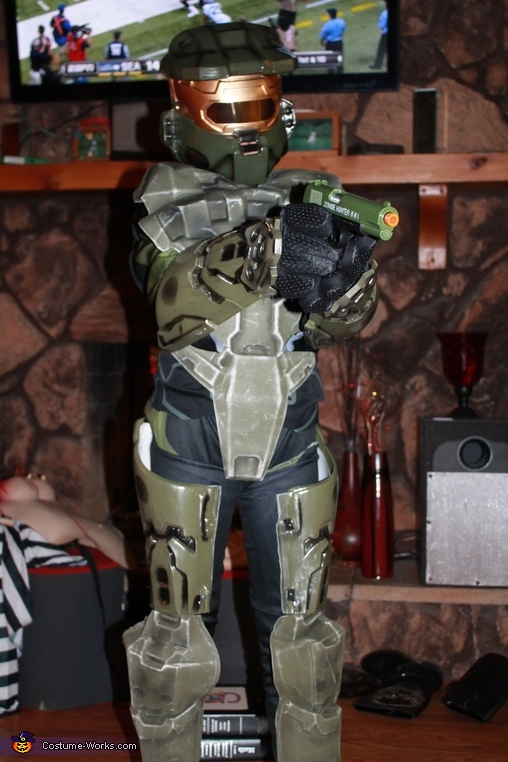 Halo 3 Master Chief Homemade Costume