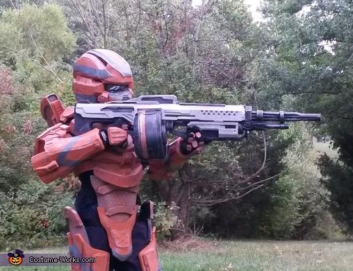 Halo 4 Warrior DIY Costume