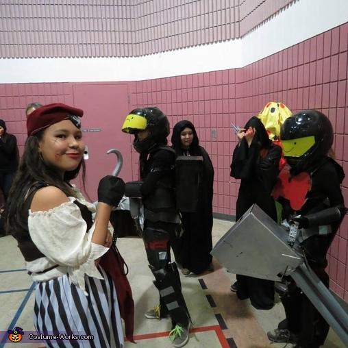 Halo Chain Guy and Chain Girl Homemade Costume