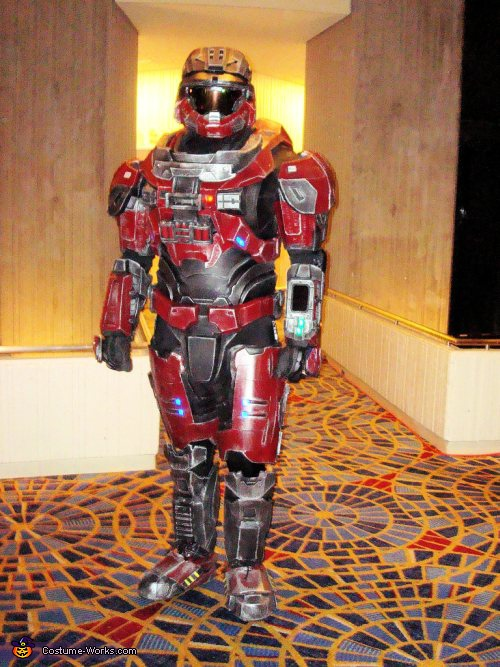 Halo Reach Armor Costume