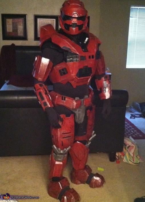 Halo Spartan Costume