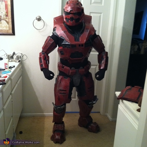 Homemade Halo Spartan Costume