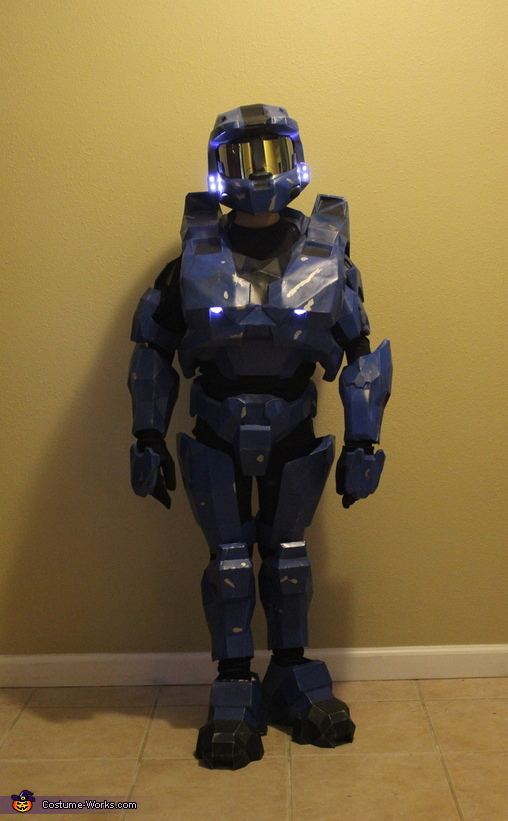 & Halo Spartan Armor Costume
