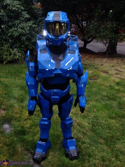 Halo Spartan Armor Homemade Costume