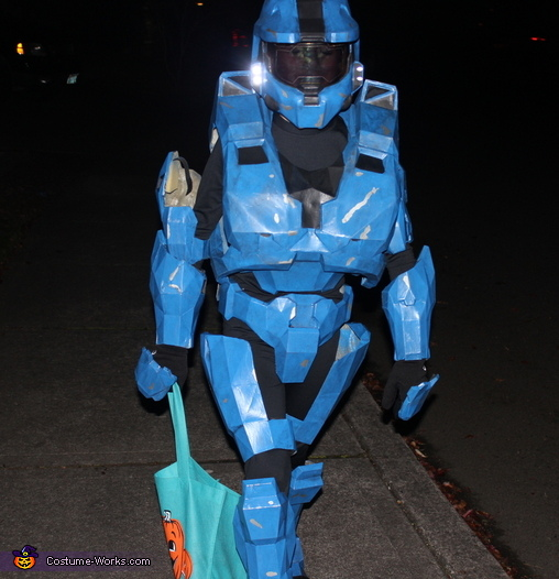 Halo Spartan Armor Homemade Costume