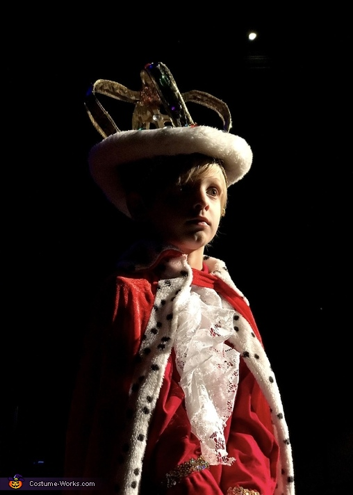 King George III, Hamilton Costume