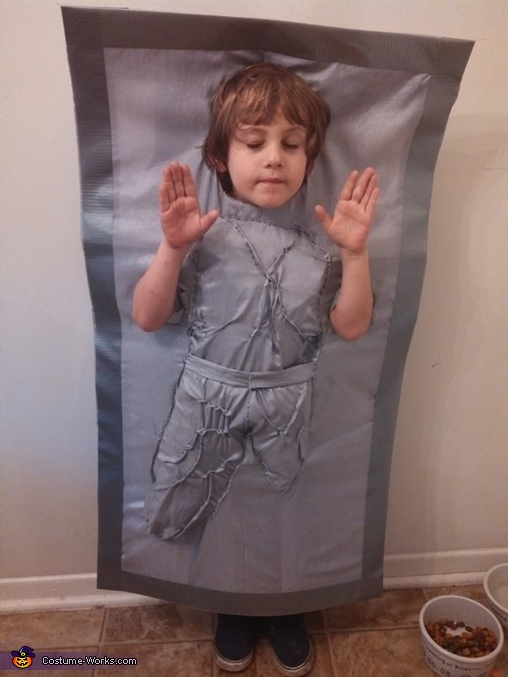 Han Solo in Carbonite Homemade Costume