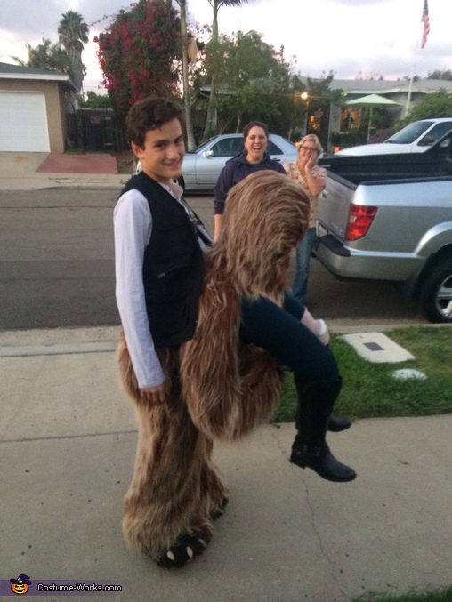 Han-Bacca?, Han Solo Riding Chewbacca Costume
