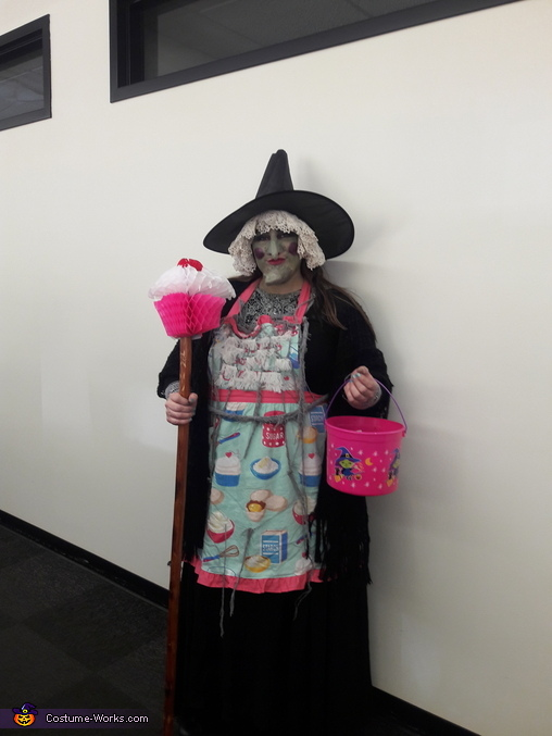 Recreated at work., Wicked Witch from Hansel and Gretel Disney characters Costume