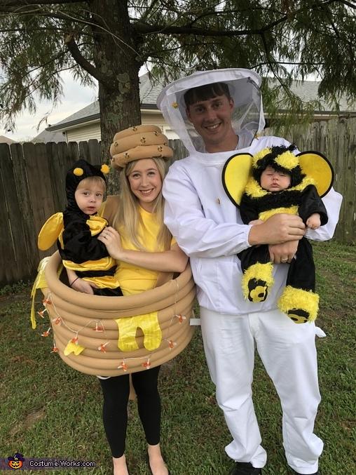 Happ'bee Hive'oween Costume